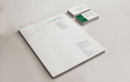 Briefpapier & Visitenkarten