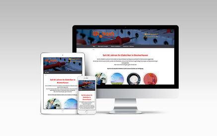 WordPress Website für Wiebach