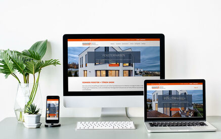 WordPress Website für Kemner Fenster +Türen