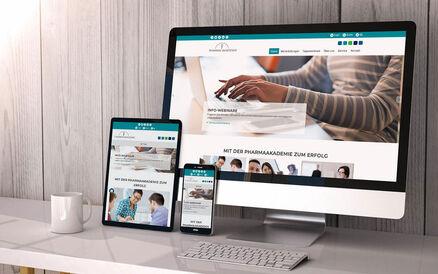 TYPO3 Website für die Pharmaakademie